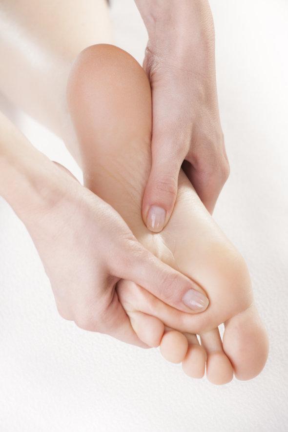 tło refleksologia masaż stopy katarzyna gołębiewska